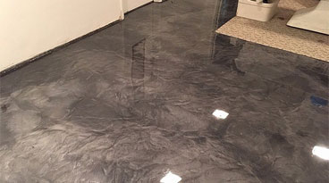 Metallic Epoxy Floor Tallahassee
